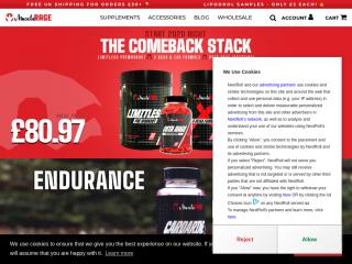 musclerage.co.uk screenshot