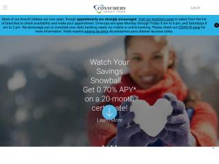 myconsumers.org screenshot