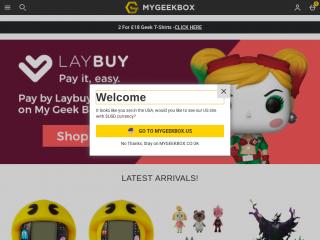mygeekbox.co.uk screenshot