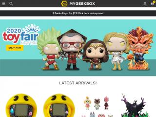 mygeekbox.us screenshot