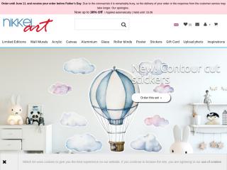 nikkel-art.co.uk screenshot