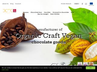 octochocolate.co.uk screenshot