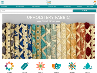 onlinefabricstore.net screenshot