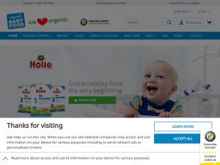 organicbabyfood24.de screenshot