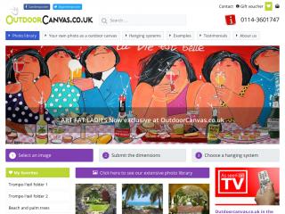 outdoorcanvas.co.uk screenshot