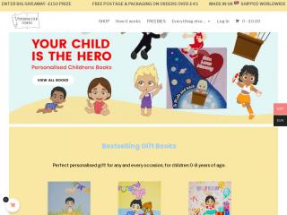 personalisedstories.co.uk screenshot