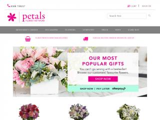 petals.co.nz screenshot