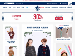petit-bateau.co.uk screenshot
