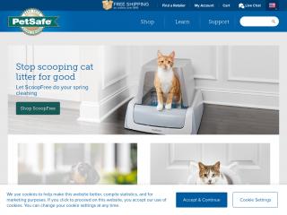 petsafe.net screenshot