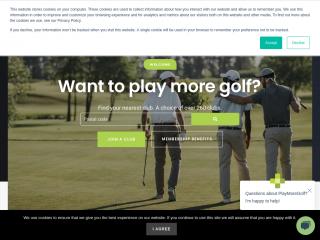playmore.golf screenshot