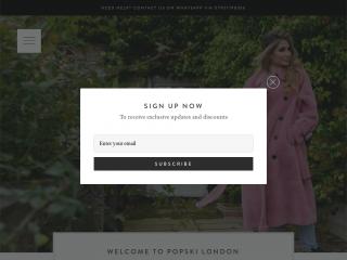 popskilondon.co.uk screenshot