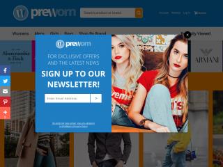 preworn.co.uk screenshot