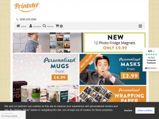 printster.co.uk screenshot