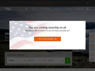 racechip.co.uk screenshot