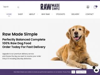 rawmadesimple.co.uk screenshot