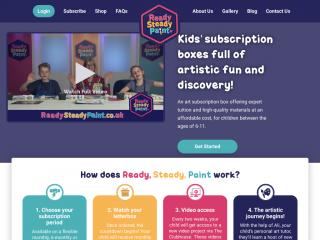 readysteadypaint.co.uk screenshot