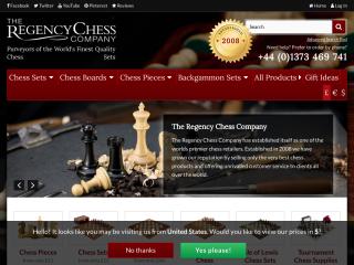 regencychess.co.uk screenshot