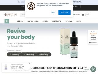 revivo.co.uk screenshot