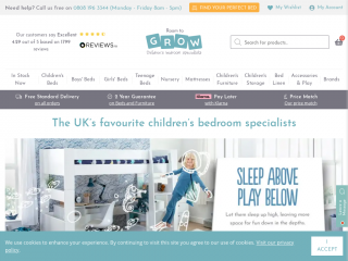 roomtogrow.co.uk screenshot