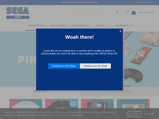 segashop.co.uk screenshot