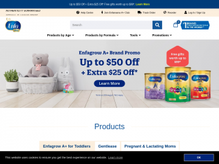 shop.enfagrow.com.sg screenshot