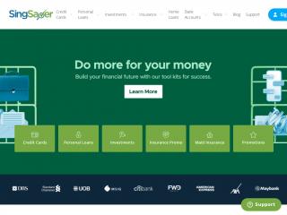 singsaver.com.sg screenshot