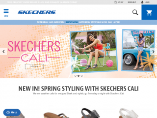 skechers.co.nz screenshot