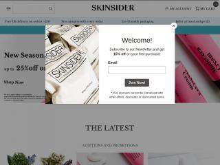 skinsider.co.uk screenshot