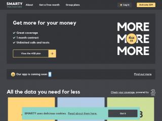 smarty.co.uk screenshot