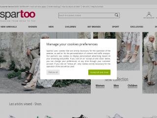 spartoo.co.uk screenshot