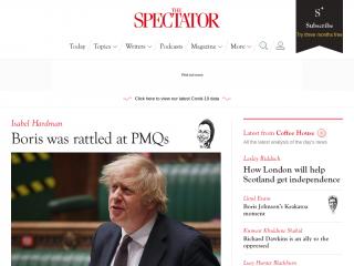 spectator.co.uk screenshot