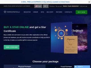 starregistration.net screenshot