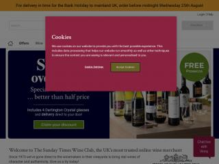 sundaytimeswineclub.co.uk screenshot