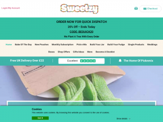 sweetzy.co.uk screenshot