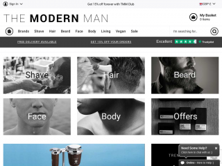 themodernman.co.uk screenshot