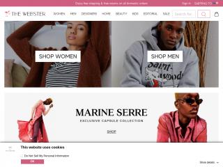 thewebster.us screenshot