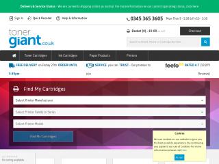 tonergiant.co.uk screenshot