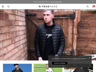 trueface.co.uk screenshot