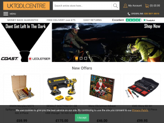 uktoolcentre.co.uk screenshot