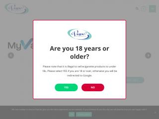 vaperesources.co.uk screenshot