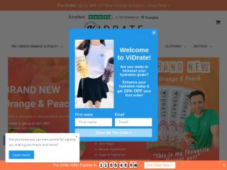 vidrate.co.uk screenshot