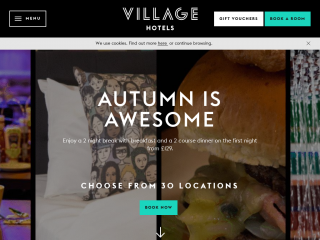 village-hotels.co.uk screenshot