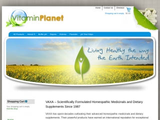 vitaminplanet.co.uk screenshot