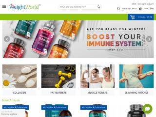 weightworld.uk screenshot