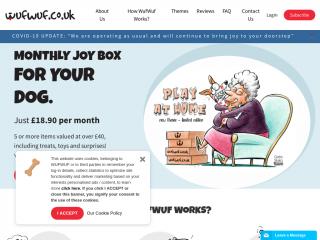 wufwuf.co.uk screenshot