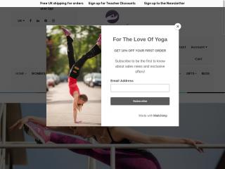 yogamasti.co.uk screenshot