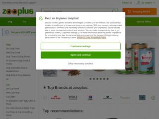 zooplus.co.uk screenshot